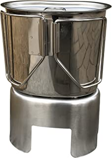 Baoblaze Outdoor Stainless Steel Lightweight Canteen Cup Stove Stand Rack Bracket Support Camping Cooking
