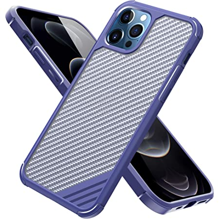 Arae Compatible with iPhone 12 Mini Case Military Grade Anti-Scrach Shock Absorbing Protection Durable Case 5.4 inch (Blue)