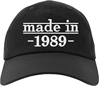 30th Birthday Gift, Made in 1989 All Original Parts Baseball Hat