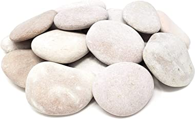 Capcouriers Rocks for Painting 20 Painting Rocks for Rock Painting Range from 1.75 to 2 inches in Length