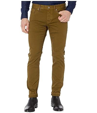 Scotch & Soda Ralston Clean Garment Dyed Colors (Military Green) Men