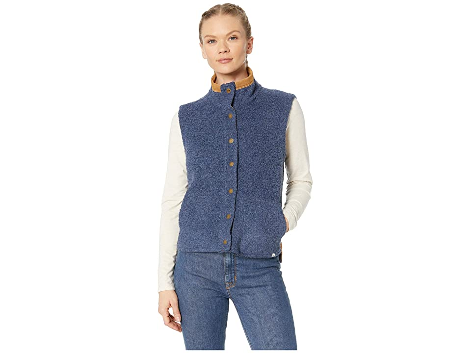 Toad&Co Sheridan Sherpa Vest (Nightsky Heather) Women