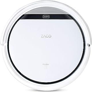 ZACO V3sPro - Robot aspirador con 4 modos de limpieza, fácil manejo y programación con el mando a distancia, especial para...