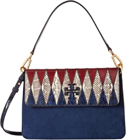 Mcgraw Pieced Exotic Shoulder Bag