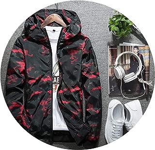 Love super store-outerwear Men's Jacket Camouflage Hooded Coats Man Windbreaker 2019 Casual Sporting Plus Size