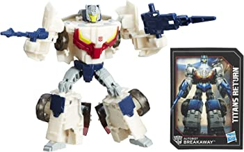 Transformers Generations Deluxe Titans Return Autobots Throttle and Breakaway Action Figure