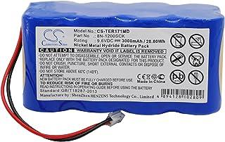 3000mAh Replacement Battery for TERUMO 8N-1200SCK