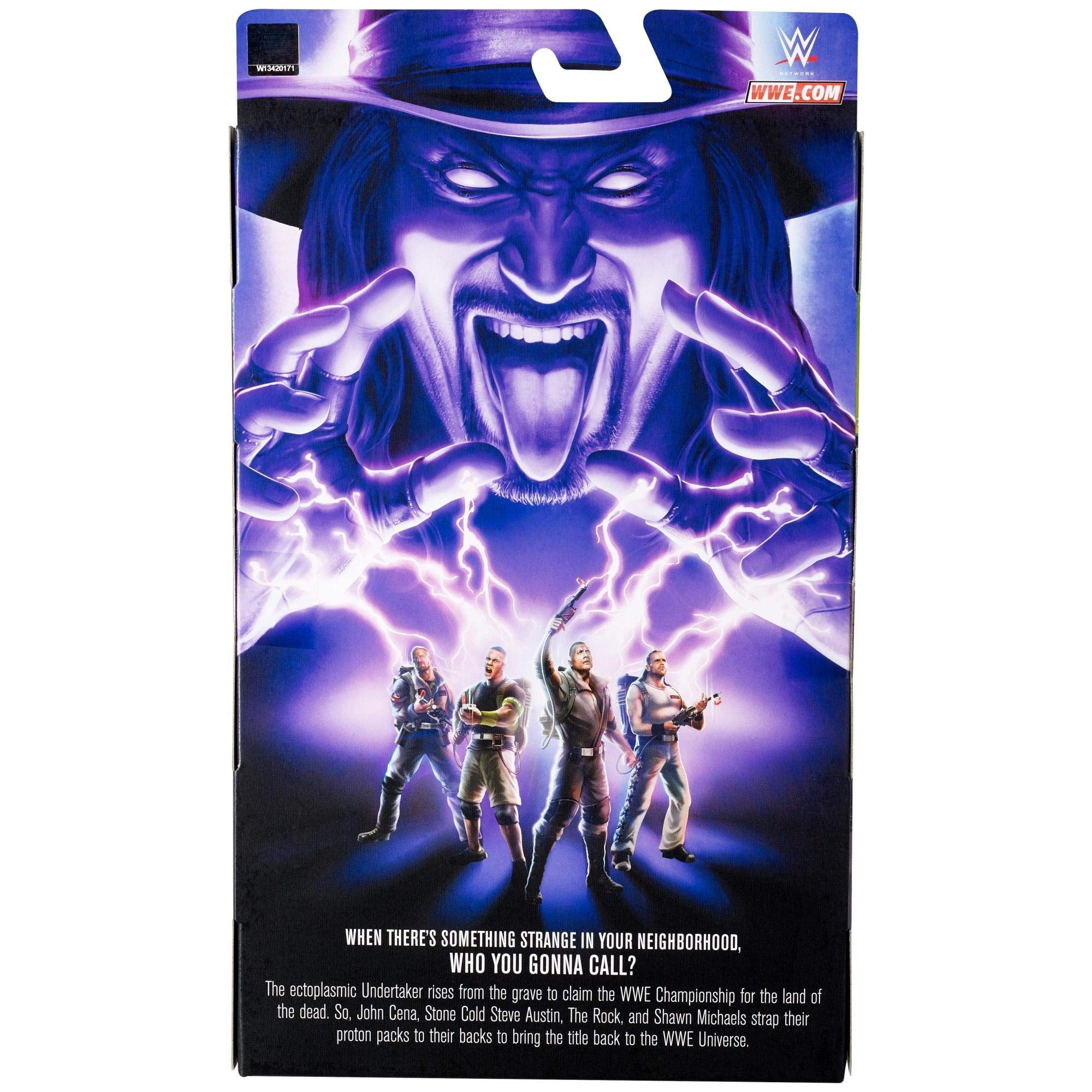 Mighty Mojo WWE Ghostbusters Undertaker Elite Collection Action Figure