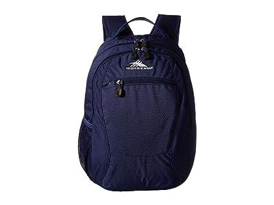 High Sierra Curve Backpack (True Navy) Backpack Bags