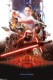 Trends International Star Wars: The Rise Of Skywalker - Group Wall Poster, 22.375