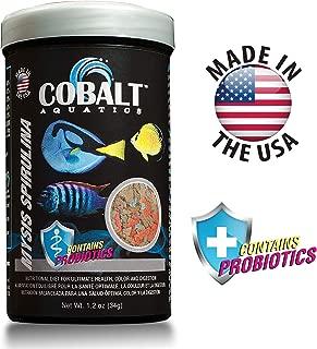 Cobalt Aquatics Mysis Spirulina Fish