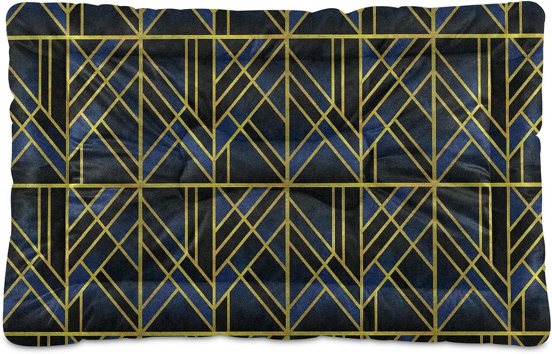 ZOMOY Ultra Soft Pet Crate Mats Max 62% OFF Abstract Pr Art Geometric Direct store Modern