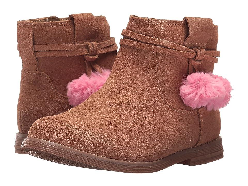Hanna Andersson Runa (Toddler/Little Kid/Big Kid) (Tan) Girls Shoes