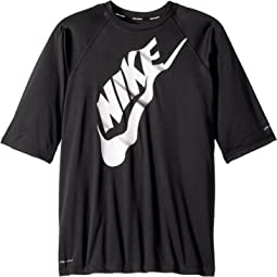 Nike Kids - Solid Half Sleeve Hydroguard (Big Kids)