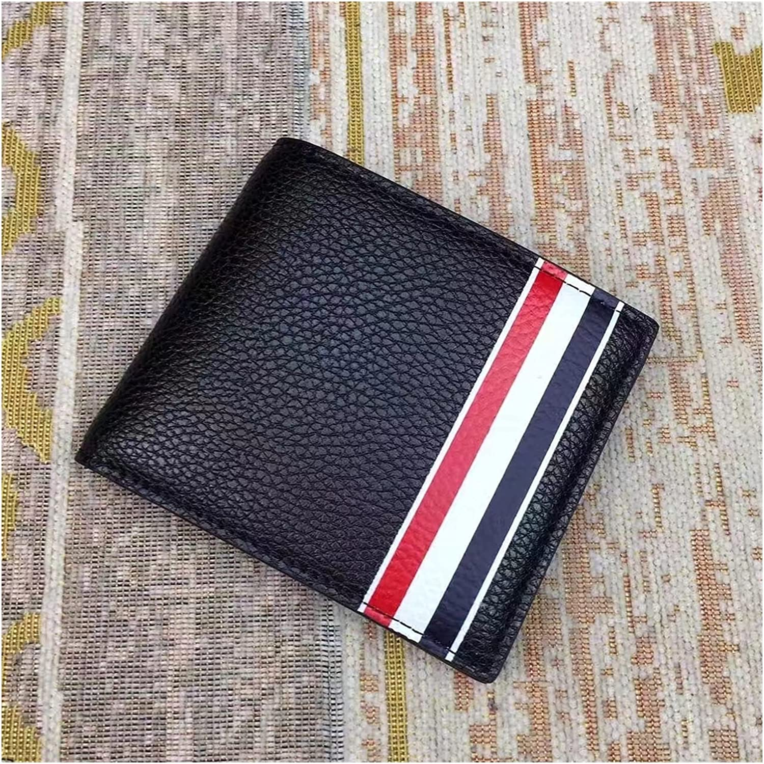 JQDMBH Small Wallet Card Holder Max 86% OFF Genuine Mail order Sh Leather