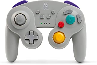 PowerA Wireless GameCube Style Controller for Nintendo Switch Grey