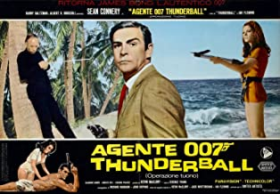 Xl Poster Rare Find - Thunderball James Bond 007 20 X 30