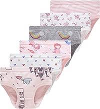 Girls' Pure Cotton Panties Soft Underwear