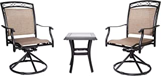 Best patio dining chairs swivel Reviews