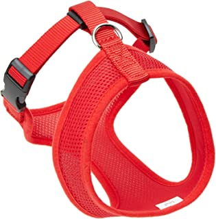 Coastal  Comfort Soft Adjustable Dog Dog Harness - Red X-Small For Dogs 7-10 lbs