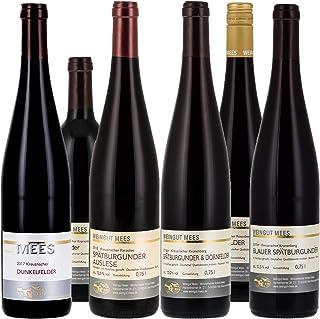 Weingut Mees ROTWEIN TROCKEN PROBIERPAKET Wein Deutschland Nahe Paket 6 x 750 ml
