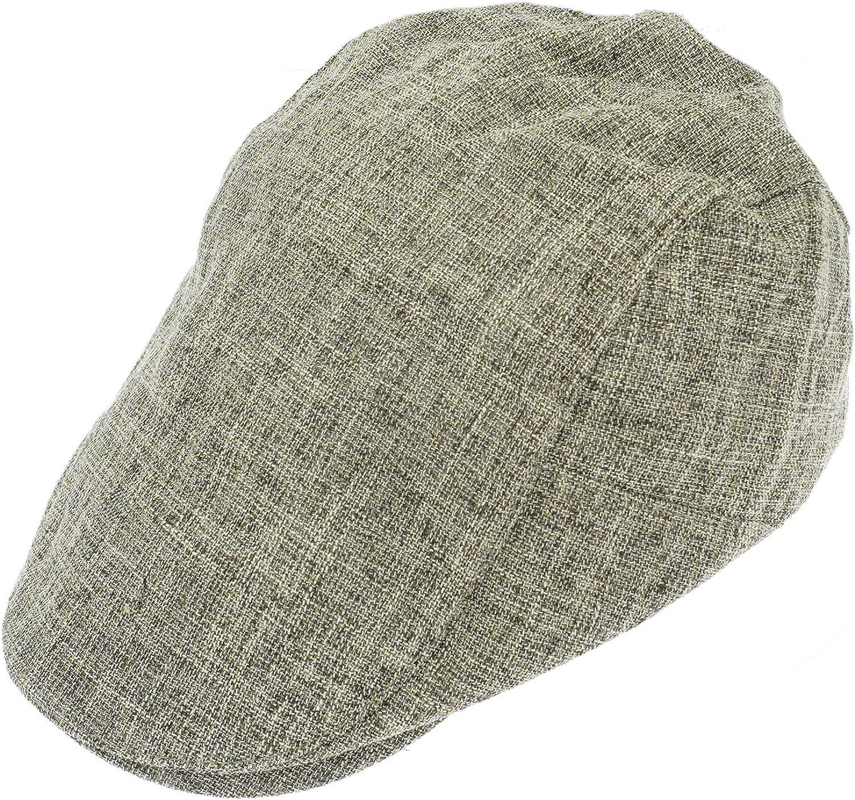 KeepSa Gorras planas de c/á/ñamo puro para hombre Gatsby Ivy Irish Hat Newsboy Boina Gorras