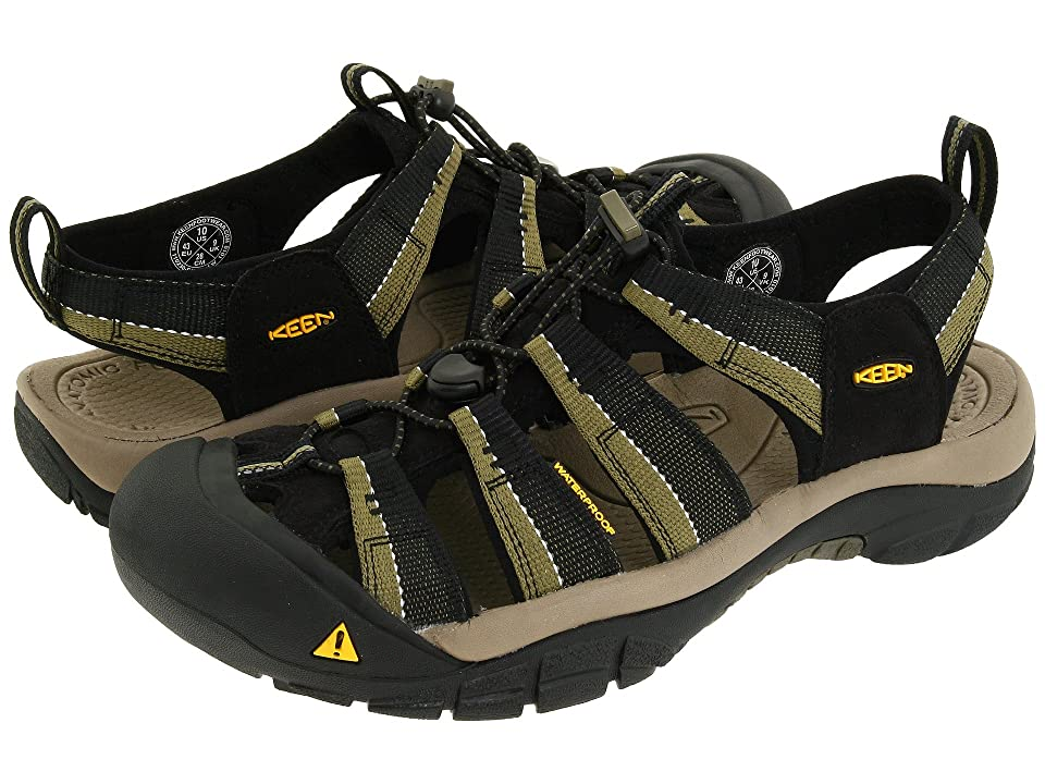 Keen Newport H2 (Black/Stone Gray) Men