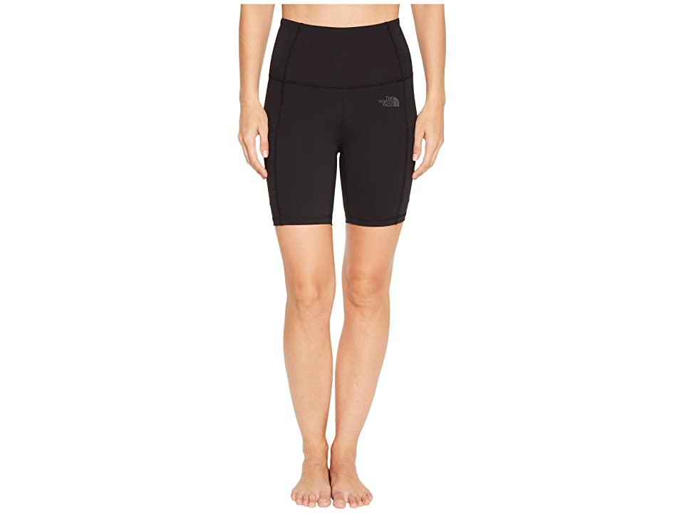 The North Face Motivation High-Rise Pocket Shorts (TNF Black) Women