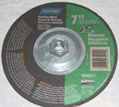 10 Norton 03206 7 x 5//8-11 60g Zirconia Flap Discs Type 29 Grind /& Polish Metal