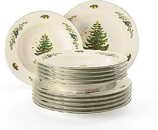 Seltmann Weiden no limits desayuno plato blanco porcelana 24 cm pastel plato