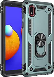 FanTing Case for Samsung Galaxy M01 Core, Rugged and shockproof,with mobile phone holder, Cover for Samsung Galaxy M01 Cor...