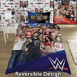 WWE Face V Heel UK Single/US Twin Duvet Cover and Pillowcase Set