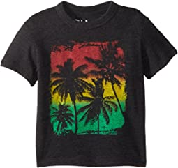 Super Soft Palm Breeze Rasta Tee (Toddler/Little Kids)
