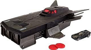 Hot Wheels DC Justice League Batman Transforming Flying Fox Vehicle (Black FCF34)