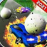 Destrucción de bolas rodantes de coches encadenados