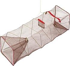 ZXLIFE@@ Zusammenklappbare Fischfalle Fischernetz faltbares Fischernetz Netz fischfreundlich bewegliche Netz Krebsfalle
