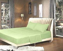 Tache Home Fashion 202-SG-BSS-F 3-4 Piece Sheet Set, Full, Green