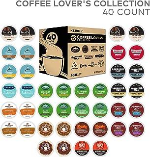 Green Mountain Coffee Keurig Coffee Lover's Variety Pack Single-Serve K-Cup Sampler, 40 Count