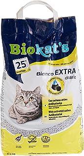 رمل بيانكو اكسترا لصندوق فضلات القطط من بيوكاتس، وزن 5 كغم