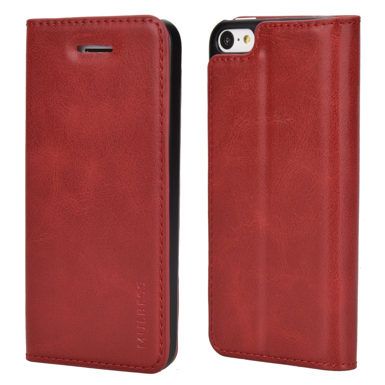 iPhone Mulbess Leather Wallet Stand