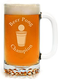 Engraved Beer Pong Champion 16 oz. Drinking Mug