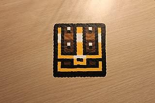 2D Treasure Chest Pixel Art Bead Sprite from the Legend of Zelda Series