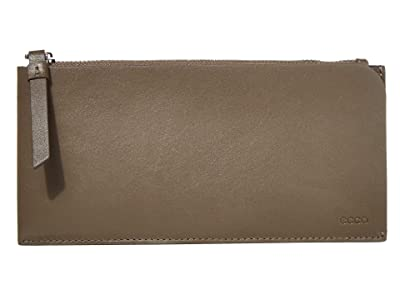 ECCO Signature Line Travel Wallet (Warm Grey) Wallet Handbags
