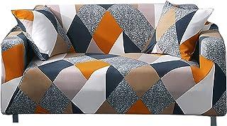 ARNTY Housse de Canapé Extensible Impression,Moderne Anti-dérapante 1/2/3/4 Places Revêtement de Canapé Élastique Housse C...