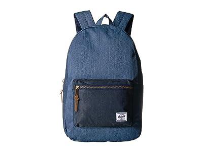 Herschel Supply Co. Settlement (Faded Denim/Indigo Denim) Backpack Bags