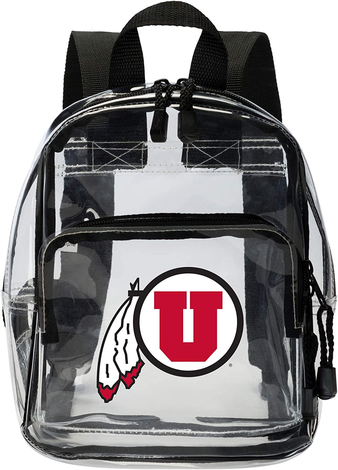 Officially Licensed NCAA X-Ray Clear Mini-Backpack Clear 9