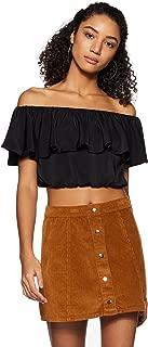 Forever 21 Women's Plain Regular Fit Shirt