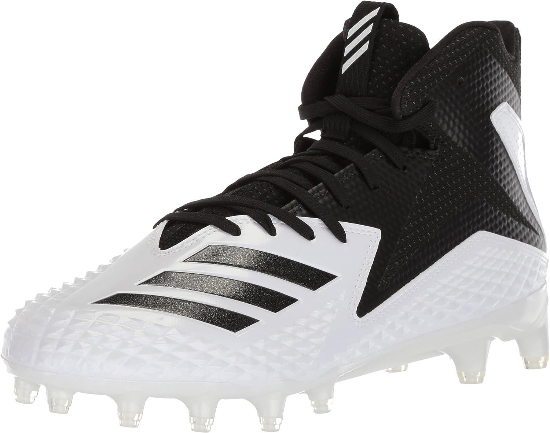 Adidas Mens Freak X Carbon Low Top Lace Up, White Black Black, Size 15.0 US   14.5 UK US