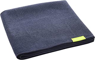 Aquis - Original Hair Towel, Ultra Absorbent & Fast Drying Microfiber Towel For Fine & Delicate Hair, Black (19 x 39 Inches)