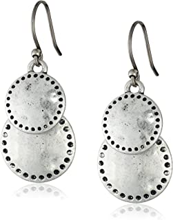 Womens Double Drop Earring